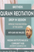 Quran Recitation Drop-In Sessions